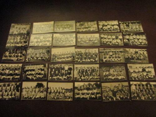 BELGIUM Small photographic cards Football teams season 1951//52 £2.50 Post free