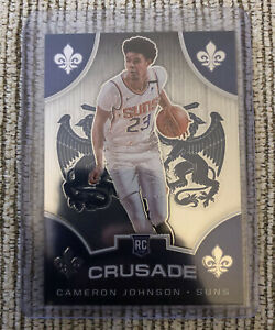 2019-20-Panini-Chronicles-Cameron-Johnson-Crusade-RC-Rookie-Card-538-PHX-Suns