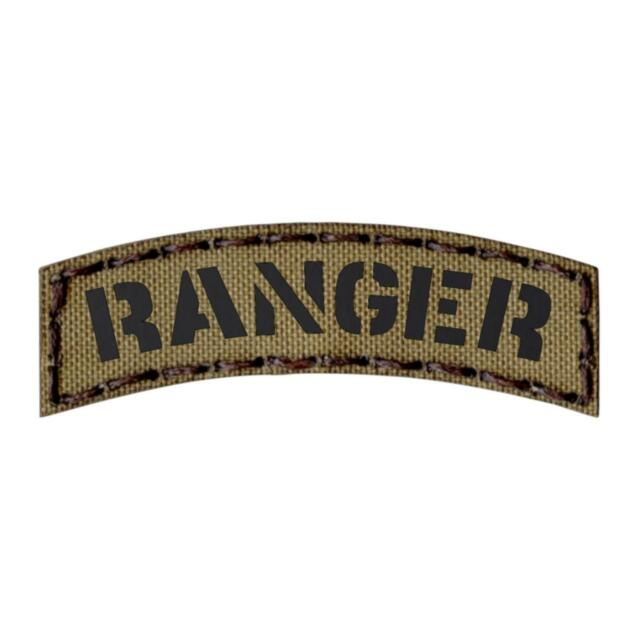 US ARMY RANGER Tab velcro patch Tape Olive OD GREEN