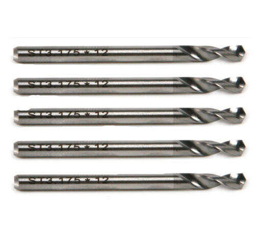 """5pcs Two Flute 1//8/"""" 3.175mm Carbide Alloy CNC Router PCB Spiral Drill Bits"""