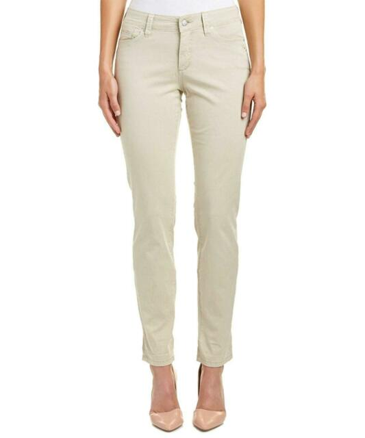 NWT NYDJ Not Your Daughters Jeans Princess BLUE $120 Skinny Women/'s Petite Pants