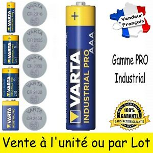 Piles LR03 VARTA ( dispo aussi LR6 LR14 LR20 6LR61 CR 2016 2025 2032 2430 2450 )