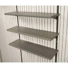 """New Lifetime 0130 3-Piece 30"""" Shelf Accessory for Sheds"""