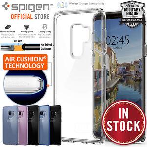 timeless design b7e94 c4eae Details about Galaxy S9/Plus S8 Case shock proof Genuine SPIGEN Ultra  Hybrid Cover Samsung