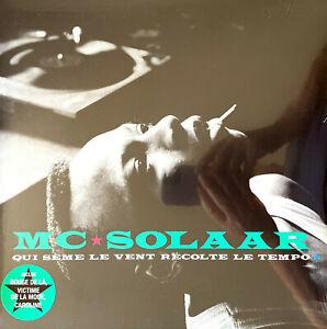 MC Solaar LP Qui Sème Le Vent Récolte Le Tempo - Réédition 2021 - France