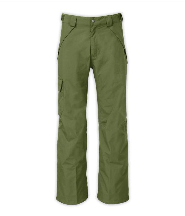 The North Face men's SEYMORE PANT Snow SKI pants  Scallion Grün Größe XXL 2XL