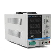 Dc Bench Power Supply 30v10a Precision Variable 4 Digital Led Display White