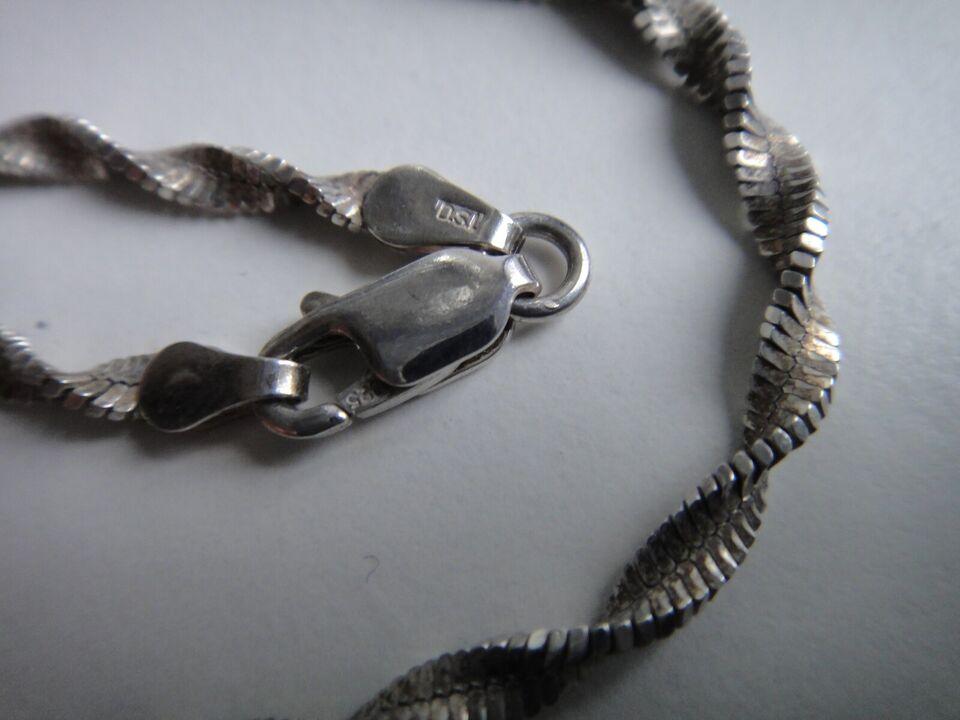 Halskæde, sølv, TSD 925