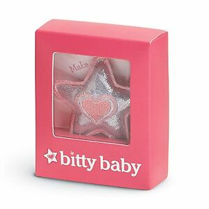 "Other Dolls American Girl Bitty Baby Star Charm For 15"" Baby Doll Pillow Accessory New Cool In Summer And Warm In Winter Dolls, Clothing & Accessories"