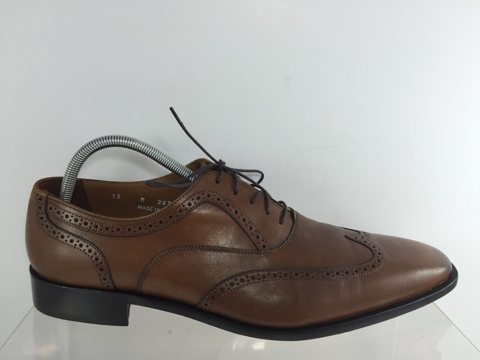 Broletto Mens Brown Dress shoes 13 M