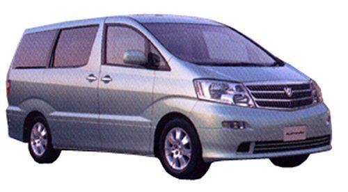 Fujimi Modello 0.1cm Up Serie No.69 Alphard Mz-V '02 Modello Auto ID69