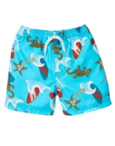 GYMBOREE OUTBACK ADVENTURE ISLAND SURF SWIM TRUNKS 3 6 12 18 24 2 3 4 5 NWT