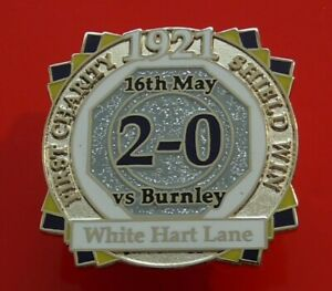 Danbury-Pin-Badge-Tottenham-Hotspur-Football-Club-FC-Charity-Shield-1921-Spurs