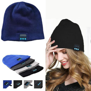 6839c67f8 Details about Wireless Bluetooth headphones Music hat Smart Caps Headset  earphone Warm Beanies