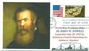 John-Wesley-Powell-Barco-Llamado-para-Explorador-Soldado-Retrato-Primer-Dia