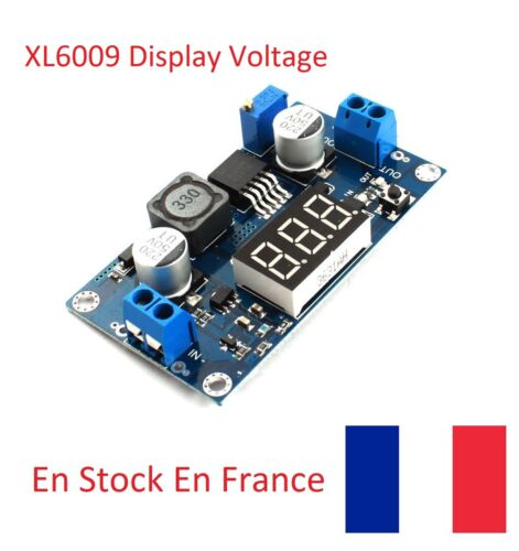 XL6009 Module DC-DC Adjustable Step-up boost Power Converter Display voltage