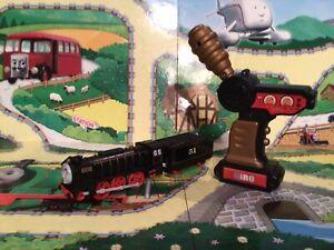 thomas the tank engine trackmaster trains Ultra Rare Remote Control Hiro Train🤩