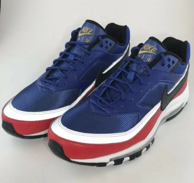 Nike Air Max 97 BW Deep Royal Blue Black University Red AO2406 400 Size 11.5