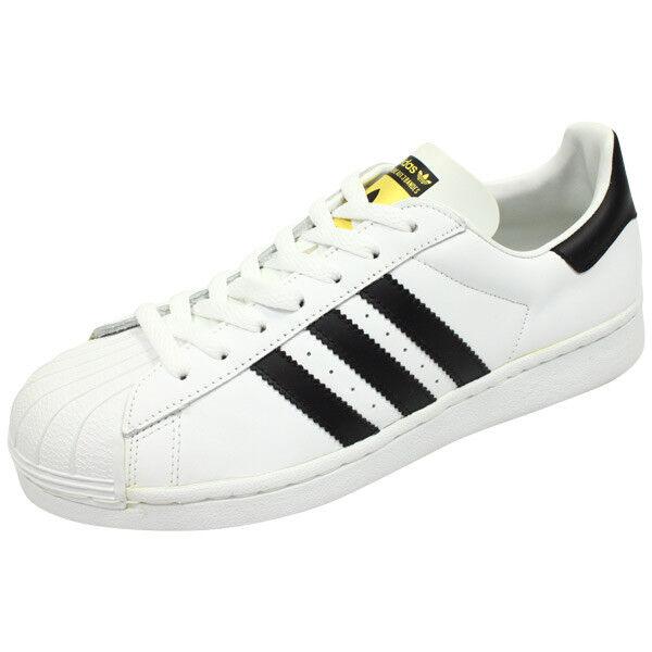 Adidas Originals Superstar 1 WHT BLACK (034678), Size 13 US RARE