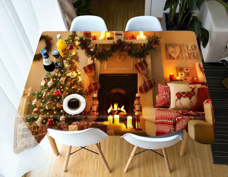 3D Weihnachten 132 Tischdecken Kleidung Geburtstagsfeier Event AJ WALL