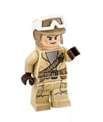 LEGO STAR WARS MINIFIGURA 75133 MINIFIGURA TROPA REBELDE COLECCION NUEVO