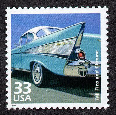 Angemessen Vereinigte Staaten, Scott 3187-g, Autos Der 594ms Heck Flosse & Chrom, Mnh Aromatischer Geschmack