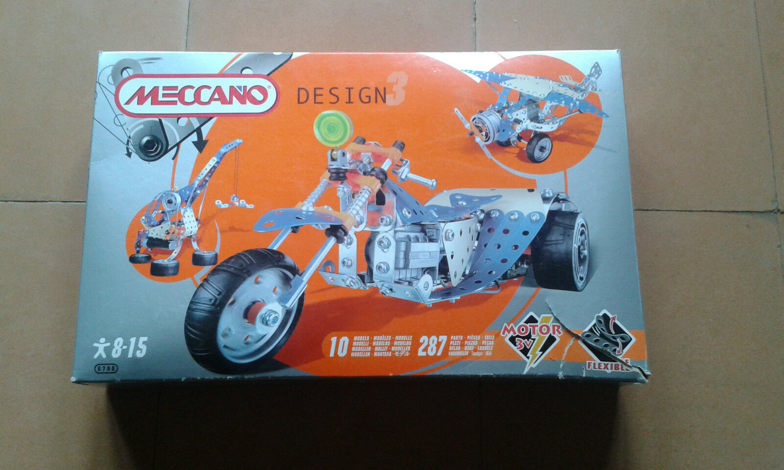 Used - MECCANO - DESING - Motor 3 v Item For Collectors