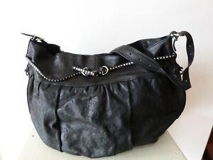 most popular sale uk meet Details zu Fredsbruder Tasche Hobo Bag Beuteltasche schwarz mit  zusätzlicher Kosmetiktasche