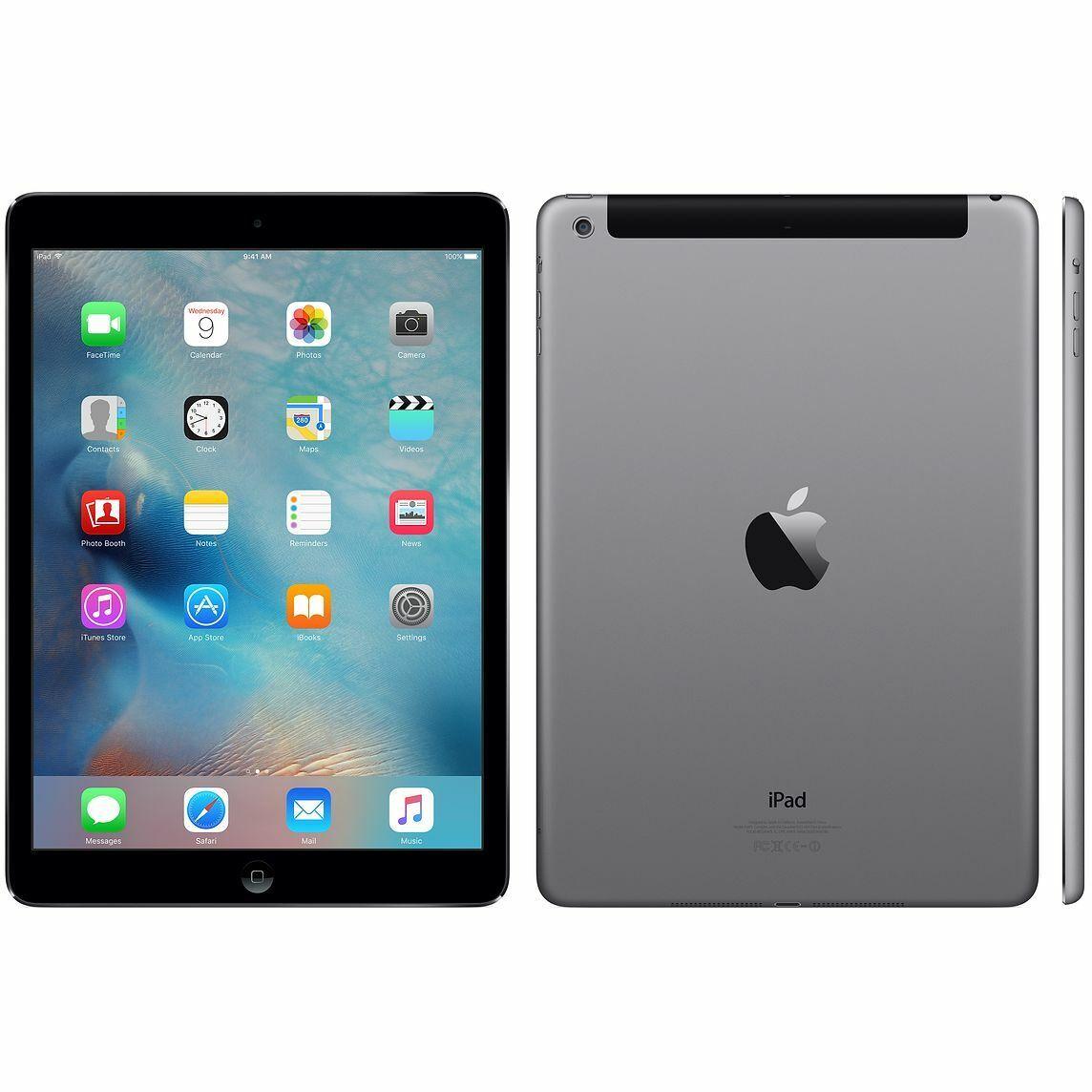 iPad: Tablette iPad Air 2 A1567 Wifi + cellulaire 4G 9,7″ 128 GB iOs 14 désimlocké