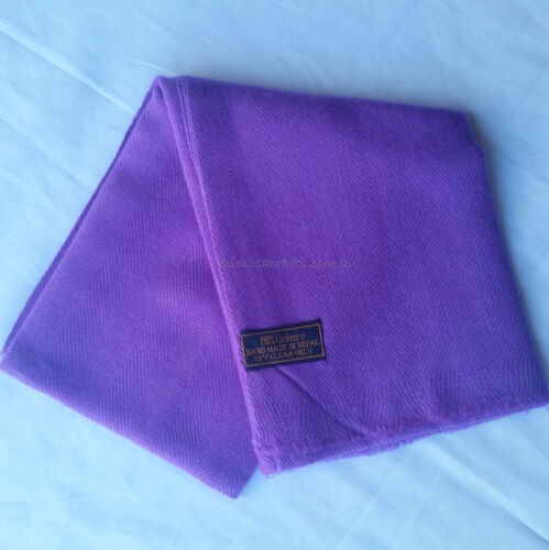 Nepalese Handmade Warm 100/% Pashmina Shawl Stole Scarf Cashmere Wrap For Women
