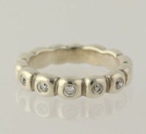 654e0b826 NEW Pandora Hope Clear CZ Ring - 925 Sterling Silver Band 7.25 55 ...