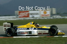 THIERRY BOUTSEN Williams fw12c brasiliano GRAND PRIX 1989 Fotografia
