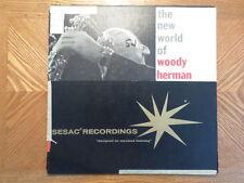 SESAC DG LP RECORD MONO/ WOODY HERMAN NEW WORLD OF/ VG VINYL JAZZ