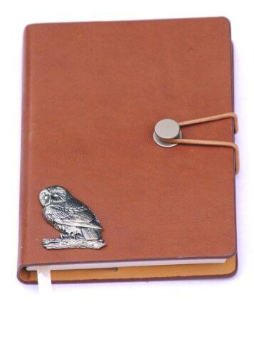 Tawny Búho Cuaderno Bloc De Notas Jotter Grabadora Regalo ideal de naturaleza silvestre A6 257
