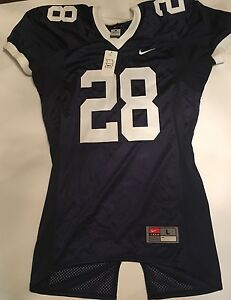 El cuarto contar hasta Registrarse  Authentic Penn State Nittany Lions Nike football jersey L blue #28 SEWN NWT  NEW | eBay