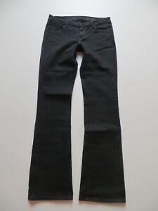 Levi's ECO Bootcut Jeans Hose, W 29 /L 34, schwarze Schlaghose, organic cotton !