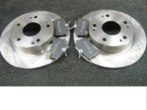 Audi A4 2.0 1.9 1.8 1.6 01-05 arrière disques de frein /& plaquettes