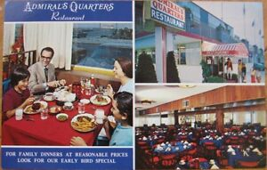 Details about 1973 AD Chrome: Seafood Restaurant - Wildwood Crest, NJ