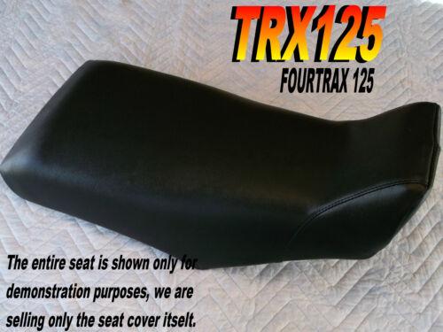 TRX125 1985-86 Replacement seat cover Honda Fourtrax TRX 125 Black 308A