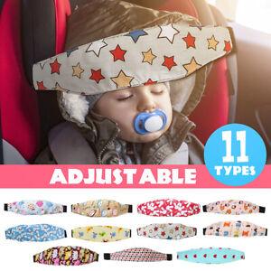 Safety Kids Baby Stroller Car Seat Sleep Nap Aid Head Fasten Support Holder Belt