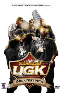 Details about GETO BOYS UGK MUSIC VIDEOS HIP HOP RAP DVD SCARFACE PIMP C  BUN B MASTER P JAY-Z