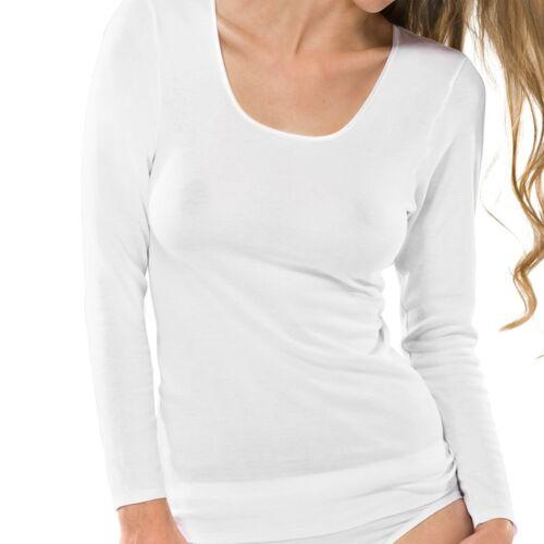 Schiesser Damen Unterhemd Shirt Spenzer Langarm 1//1-200765