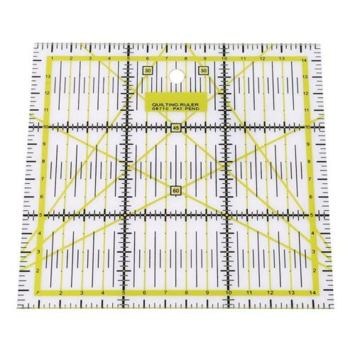 Tailor Sewing Tools Quilting Patchwork Scrapbook Foot Seam Ruler BL3