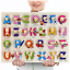 miniature 14 - Nouveau bébé enfants en bois puzzle Puzzle Jouets forme trieur Educational Learning Toy UK