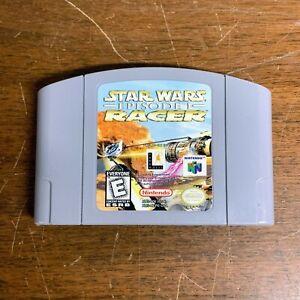 Vintage Nintendo 64 Star Wars episodio I Racer Juego Para N64
