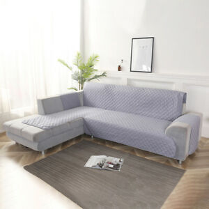 Stretch-Couch-Cushion-L-shape-1-2-3-4-Seats-Sofa-Cover-Corner-Slipcover-Instal