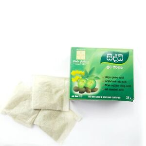 PRIME ORGANIC SLIMMING TEA BAG DETOX & WEIGHT LOSS SRI LANKAN GREEN TEA 60 BAGGS