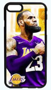 61895ceaafca LEBRON JAMES LA LAKERS NBA PHONE CASE FOR IPHONE XS XR X 8 7 6S 6 ...