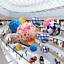 25cm-Artificial-Flowers-Rose-Flower-Balls-Topiary-Hanging-Basket-Plant-Home-Dec