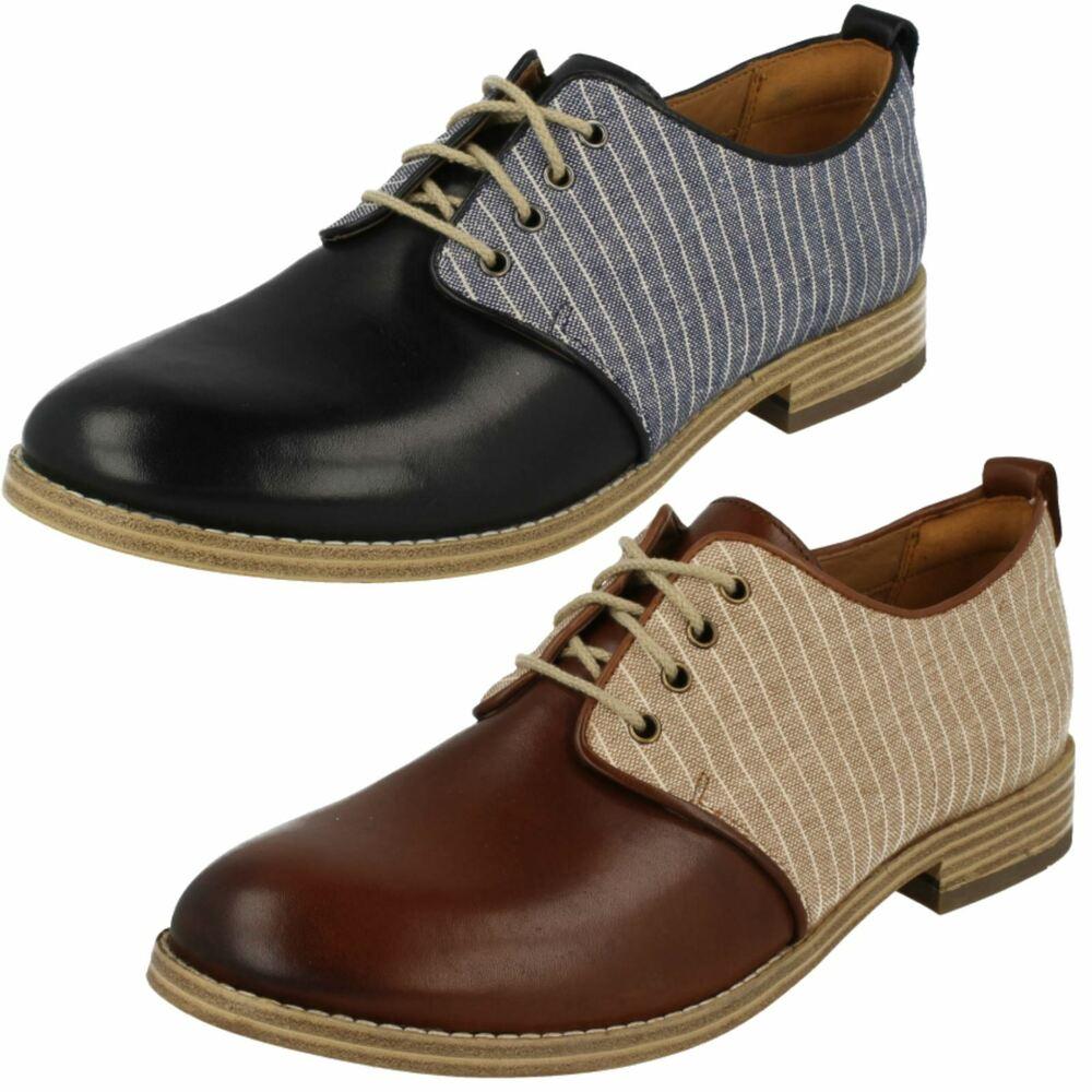 New Clarks Garçons Aile RAID Infant en Cuir Noir École Chaussures Taille UK 11.5 F